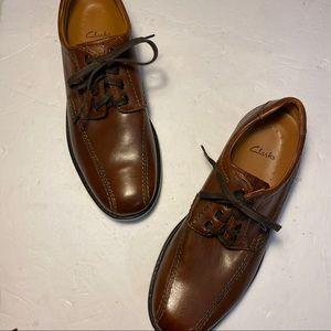 Clarks Mens Oxford Lace up Dress Shoes size 10M